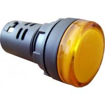 Сигнальная арматура АD22-22DS 380V желтая Укрем АсКо