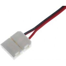 Соединитель LED RGB ленты №9 10мм провод + 2-зажима
