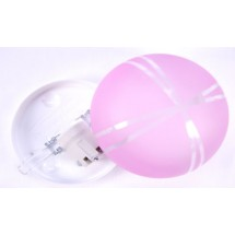 Светильник декоративный (00507) розовый цвет