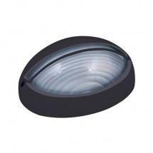 Светильник Horoz HL903BL 60W металлический корпус черного цвета для ламп накаливания IP54