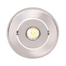 Светильник светодиодный Horoz HL671L 1x1W 6400K встраиваемый круглый
