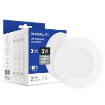 Светильник светодиодный LED SPN 3W 4100K C Global 3-SPN-002-C Maxus (3 шт. в уп.)