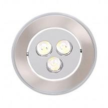 Светильник светодиодный встраиваемый Horoz 3x1 Warm white теплобелый HL673L