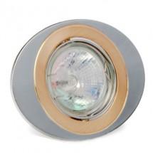 Светильник точечный Delux HDL16108R MR16 12V золотой/матовый хром 10008696