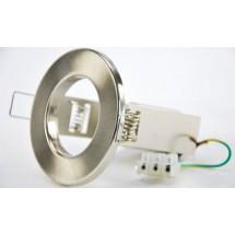 Светильник точечный Delux R-80 E-27 хром
