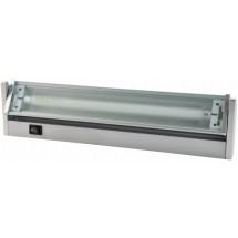 Светильник DELUX FLF T5 8W 6400K 345мм (серебряный)