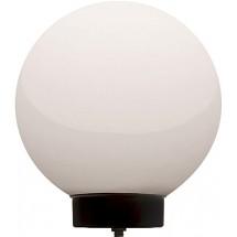 Светильник уличный ENEXT I0120045 шар опаловый Е27 основа черная