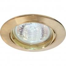 Светильник Feron точечный DL308 MR16 золото (поворотный) встраиваемый 80