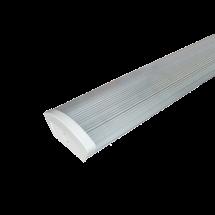 Светильник люминесцентный ЛПО 2х18 Дуэт 6 прозрачный без стартера