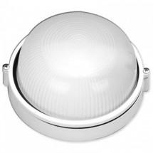 Светильник накладной Ecostrum Е27 60W белый IP 54 SL-1001 круглый