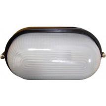 Светильник накладной Аско 0401 овальный 60W белый цвет IP 54