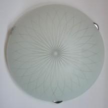 Светильник со стеклом Baklava 25 1хЕ27 IG - 252