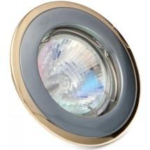 Светильник точечный HDL11002 MR11 12V хром/матовое золото DELUX