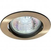 Светильник Feron точечный DL308 MR16 античное золото (поворотный) встраиваемый