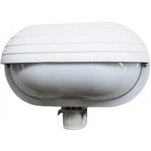 Светильник уличный с датчиком движения max 60W E27 SТ-69 WHITE EUROELECTRIC