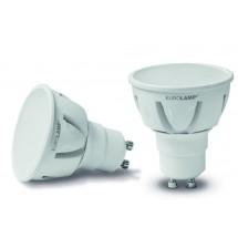 Led лампа EUROLAMP LED TURBO SKY MR16 6W GU10 3000K  LED-SMD-06103