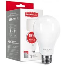 Светодиодная лампа МАХUS LED А70 15W 3000K 220V Е27 1-LED-567