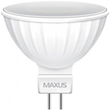 Led лампа МАХUS MR16 5W 3000K GU5 220V 1-LED-513