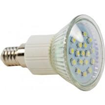 Светодиодная лампа Led Maxus 1-Led-128 R50 18SMD 1.4W 6500K 220V E14
