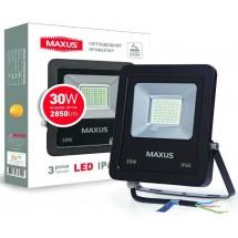Прожектор LED FLOOD LIGHT MAXUS 30W 5000K 1-MAX-01-LFL-3050