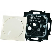 Светорегулятор 400Вт ABB Basic 55 2251 UCGL-94-507 белый цвет