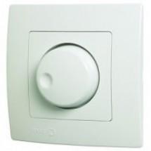 Светорегулятор поворотный 1000W Viko Karre белый цвет 90960069