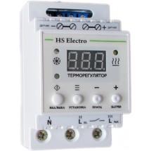 Терморегулятор HS Eleсtro ТР16у2 на DIN-рейку