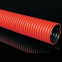Труба гофрированная двухслойная гибкая Копофлекс Ø160 мм KF 09160 ВА 50 метров Копос