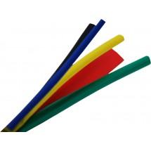 Трубка термоусадочная на клеевой основе 6,4мм разноцветная