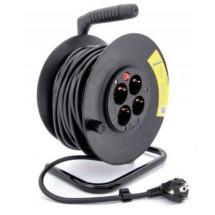 Удлинитель электрический Delux CR-50 1 гнездо  50 метров без заземления