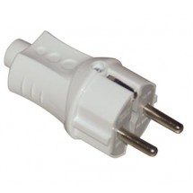 Вилка электрическая Z с заземлением DE-PA, 11116