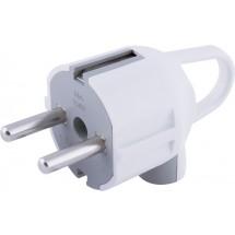 Вилка электрическая с з/к с ручкой Enext s910046