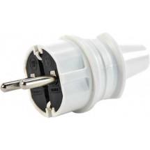 Вилка электрическая Z с заземлением з прямым подводом Mutlusan