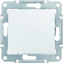 Выключатель 1-клавишный белый SDN0100121 Sedna SCHNEIDER
