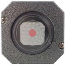 Выключатель кнопочный с подсветкой Garant 3558-91752 накладной