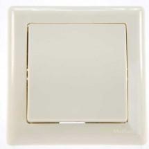 Выключатель 1-клавишный перекрестный бежевый цвет 2100-008-0202 GES