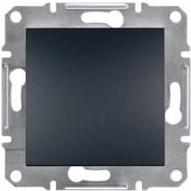 Выключатель 1-клавишный перекрестный Schneider ASFORA антрацит EPH0500171