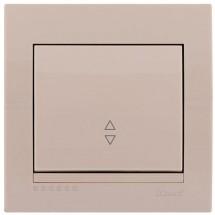 Выключатель проходной DERIY 702-0303-105 крем