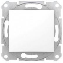 Переключатель проходной Sedna SDN0500121 белый