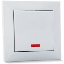 Выключатель с подсветкой SVEN SE-60011L белый
