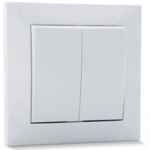 Выключатель проходной 2-й SVEN SE-60018 белый