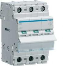 Выключатель нагрузки SBN340 40A 400V 3-полюсный Hager