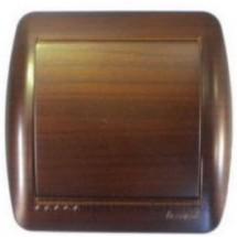 Выключатель накладной LEZARD DEMET 711-0400-100 античный кедр