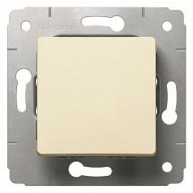 Выключатель 1-клавишный 10А  IP44 Cariva Legrand 773709 слоновая кость