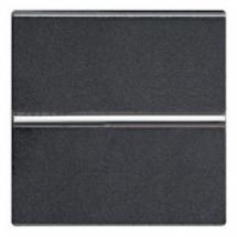 Выключатель 1-клавишный ABB Zenit  N2201 AN антрацит