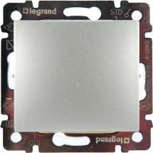 Выключатель одноклавишный 10А Legrand Valena 770101 алюминий