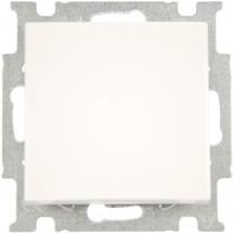 Выключатель 1 клавишный проходной ABB Basic 55 2006/6 UC 94-507 10А белый цвет