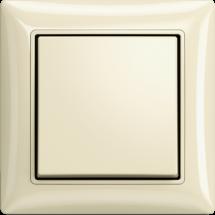 Выключатель 1-клавишный с подсветкой ABB Basic 55  20061 UСGL-92-507 слоновая кость