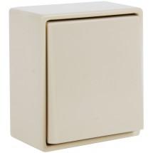 Выключатель 1-клавишный универсальный 5655 23001955 Hager / Polo слоновая кость