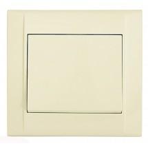 Выключатель MAKEL Defne 42010001 1-одноклавишный кремовый цвет
